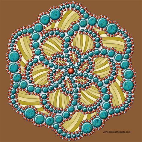 dot pattern mandala don t eat the paste dots mandala to color