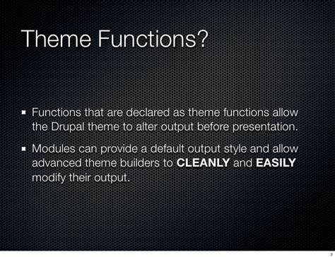 theme drupal function drupal 6 theme functions