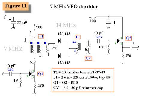 7 mhz vfo doubler electrical equipment circuit circuit diagram seekic