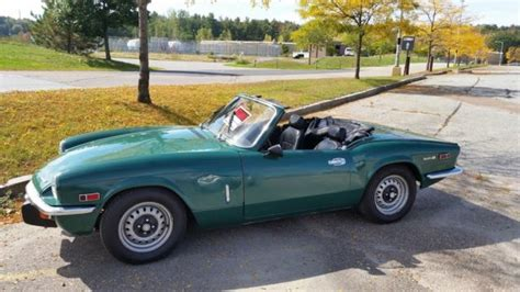 Green For Sale Seller Of Classic Cars 1972 Triumph Spitfire