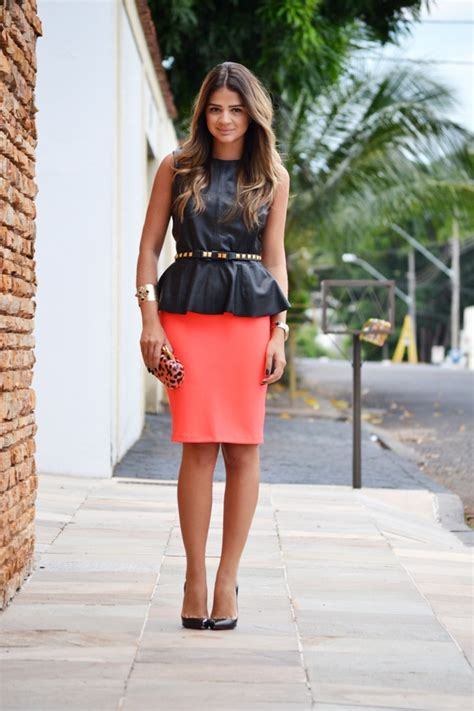 Rok Peplum Mini Polospeplum Mini Skirt 125 best images about pencil skirt on skirts zara and look do dia