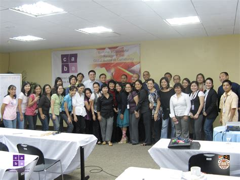 Mba Course Philippines by Gallery Chartered Association Of Business Administrators