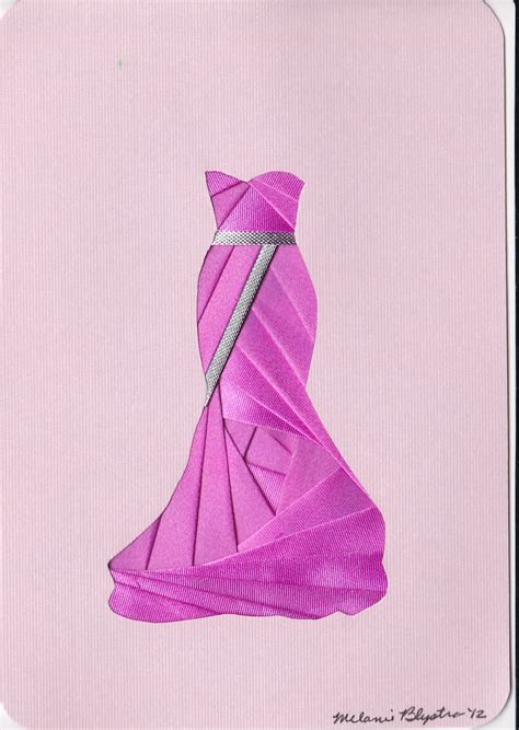 Folded Dress Card Template by 187 Best Iris Folding Images On Iris