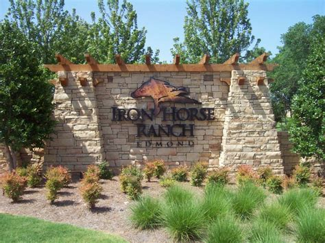 Neighborhood Signs   Signs Edmond OKC Oklahoma Vehicle Wraps Channel Letters Monuments Wholesale