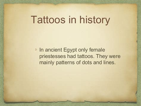 tattoo history ppt all about tattoos