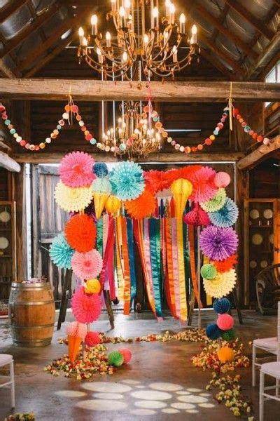 Rainbow Bright Decorations by Best 25 Rainbow Wedding Decorations Ideas On