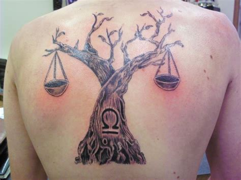 libra scale tattoo tons of libra tattoos the scales of justice