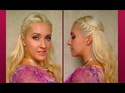 cute everyday hairstyles youtube braided half up half down with curls cute everyday