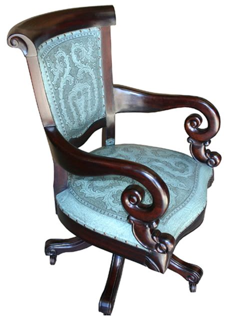 aqua swivel desk chair turquoise swivel office chair