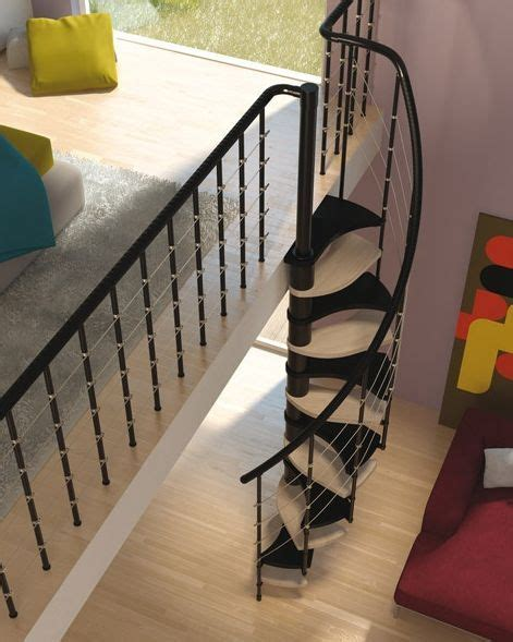inspiraci 243 n escaleras de caracol inspiration spiral staircases 183 vintage chic peque 241 as modern interior design with spiral stairs contemporary spiral staircase design staircases and