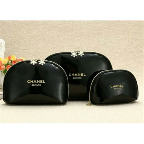 Harga Kosmetik Chanel Indonesia tas kosmetik make up pouch chanel shopee indonesia