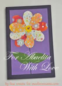 s day card for abuelita craft modernmami