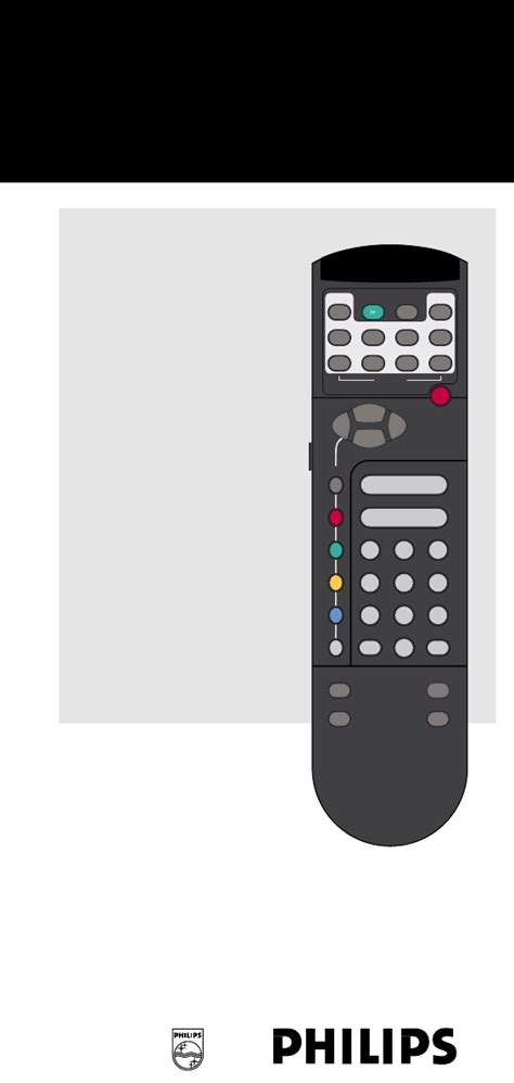 Philips Universal Remote Rp 421 User Guide Manualsonline Com