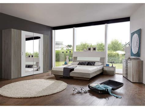 chambre adultes conforama chambre compl 232 te ginny coloris ch 234 ne montana et blanc