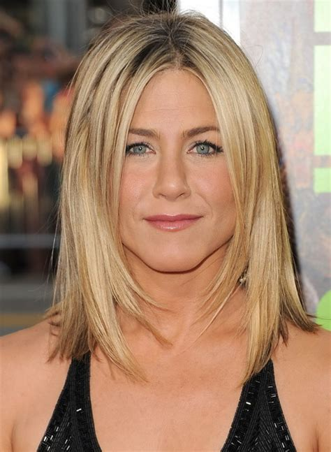 medium length hairstyles straight hair