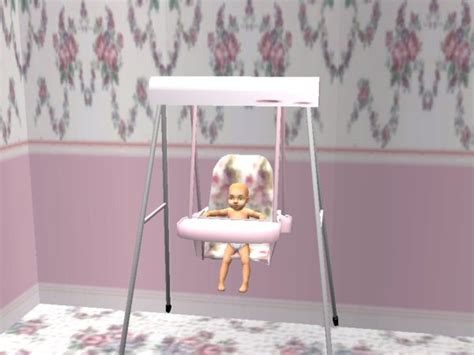 sims 2 baby swing mod the sims updated baby swing new mesh by request