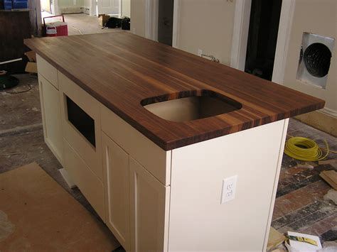 black walnut kitchen counter top