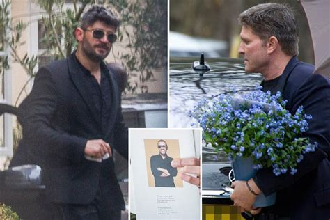 george michael s ex fadi fawaz to be kicked out of star s george michael s ex partner kenny goss joins funeral