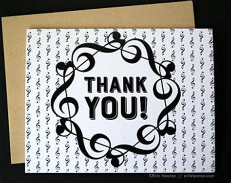Thank You Letter To Band Thank You Cards Set Of 8 Note Peacock Cards