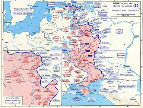 Timeline of the Battle for Moscow 1941 « Steven's Balagan