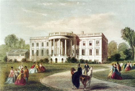 where was the original white house residence white house museum