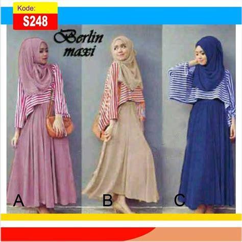 Maxi 23 Busana Muslim Masa Kini Gamis Modern Kekinian baju gamis remaja modis berlin gamis modern