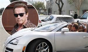 Bugatti Company Net Worth Arnold Schwarzenegger Takes His 2m Bugatti Veyron For A