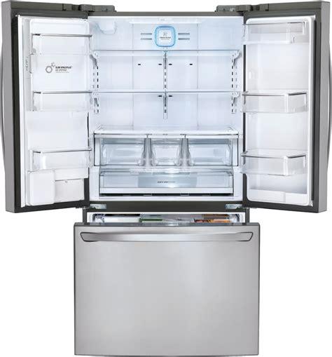 lg depth refrigerator lg lfxc24726s 36 inch counter depth french door