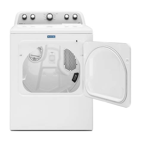 Automatic Dryer medx655dw maytag bravos 7 0 cu ft electric dryer white on white my appliance source