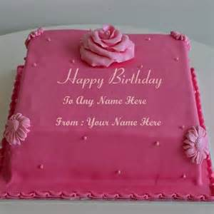 write name birthday cake for friends and family happy birthday cake with name edit happy