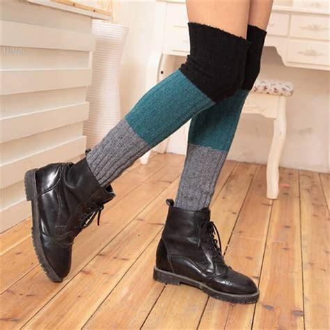 boat shoe socks aliexpress 15 crochet knit pattern for knee socks diy to make
