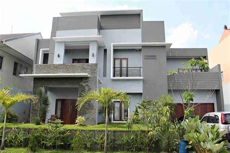 gambar desain rumah minimalis tampak depan lensarumahcom