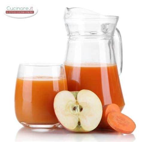 centrifugato di mela e carota cucinare it
