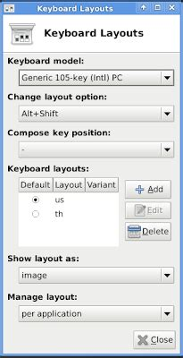 keyboard layout xfce web log s juuier เพ ม keyboard layout ใน xfce