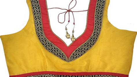 neck pattern video designer bridal back neck blouse pattern 9 diy youtube