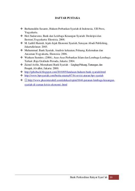 Bank Dan Lembaga Keuangan Syariah Deskripsi Ilustrasi Heri Sudarsono makalah bprs