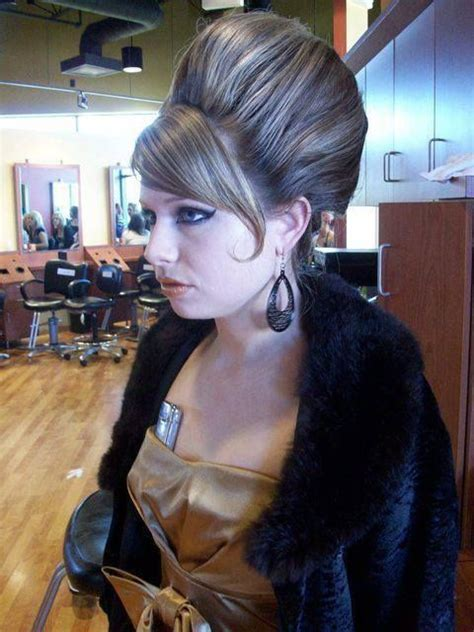 photos of tall beehive bouffant updos 128 best bouffant hairdos images on pinterest hair dos