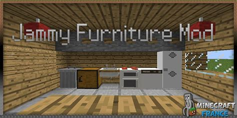 Furniture Mod 1 6 4 by Mod Jammy Furniture Mod 1 6 2 Minecraft