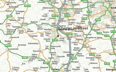 map uk chester chester le location guide