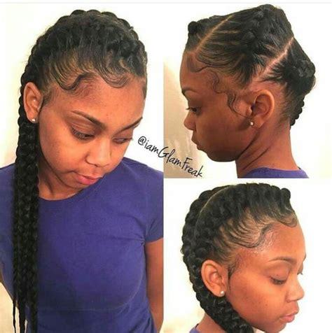 weave hairstyles going to the side 1000 ideas about goddess braids on pinterest short hair
