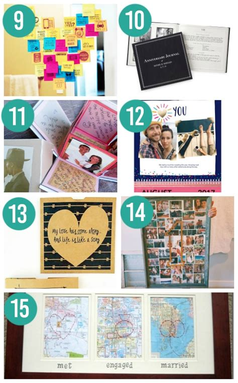 Wedding Anniversary Gift Diy by Ideas For Wedding Anniversary Gifts By Year The Dating Divas