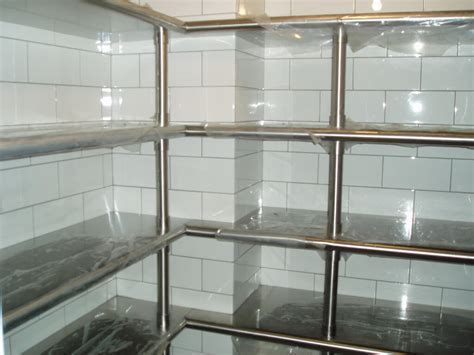 Stainless Steel Kitchen Furniture   Brooks Custom