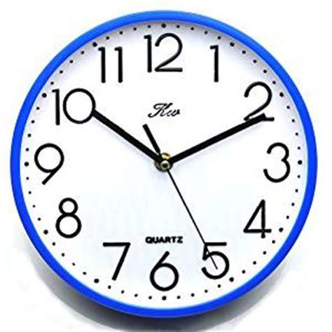 digital wall clock amazon amazon com deedo modern quartz analog digital wall clock