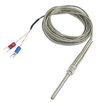 Thermocouple 10meter k type 50x5mm 500c probe thermocouple temperature sensor