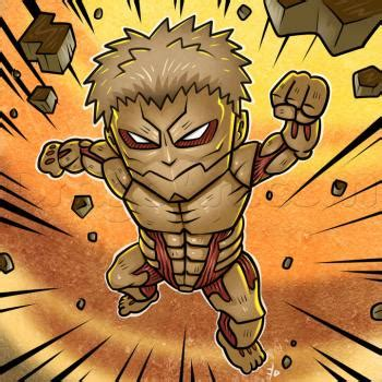 how to an attack how to draw chibi armored titan attack on titan step by step chibis draw chibi