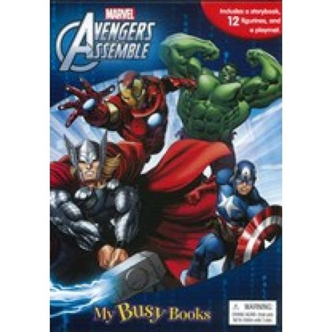 My Busy Book Marvel Avenger my busy book marvel assemble