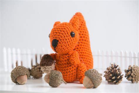 amigurumi squirrel pattern crochet acorn the amigurumi squirrel i like crochet