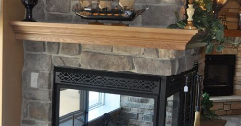 stoned fireplace fireplace crown oak wrap mantle price cut cobble jn stone fireplaces pinterest stone