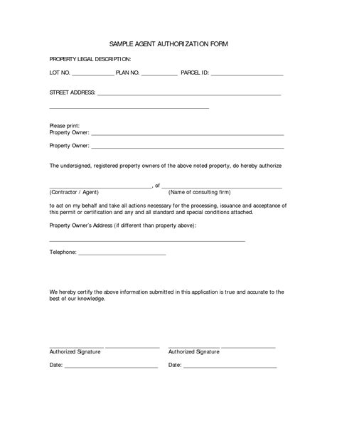 authorization letter format for hearing authorization template pertamini co
