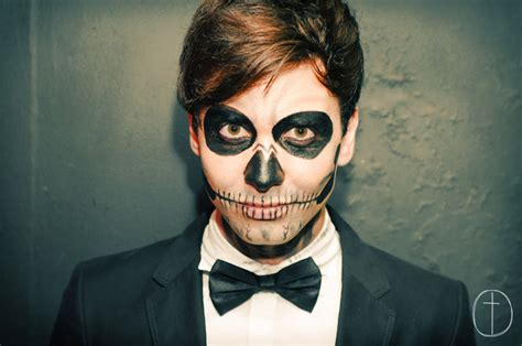 imagenes de maquillaje para halloween hombres el mejor maquillaje de halloween para hombres sencillos
